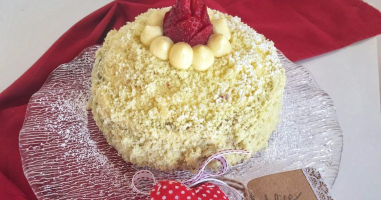 Torta Mimosa alle fragole (anche senza glutine!)
