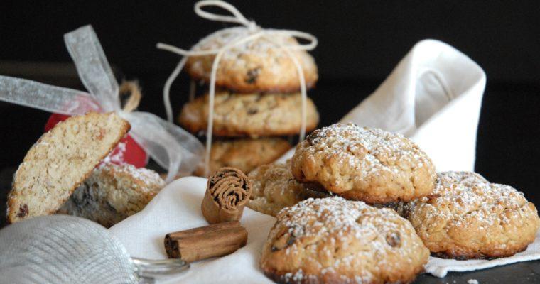 Cookies uvetta e cannella