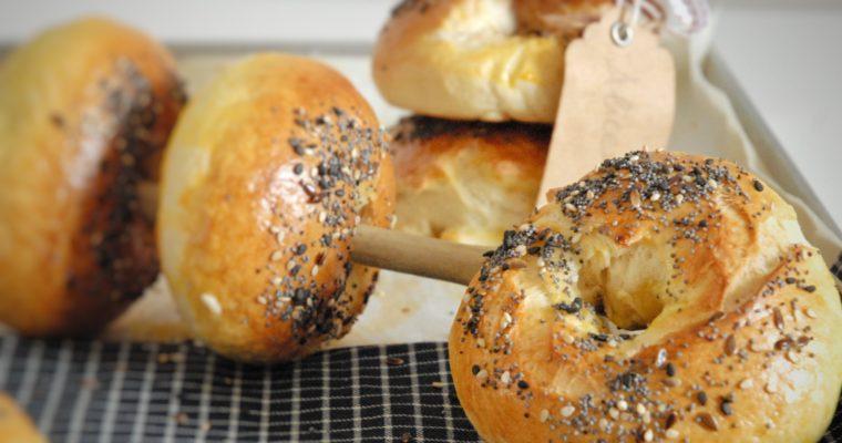 Bagels per il brunch domenicale