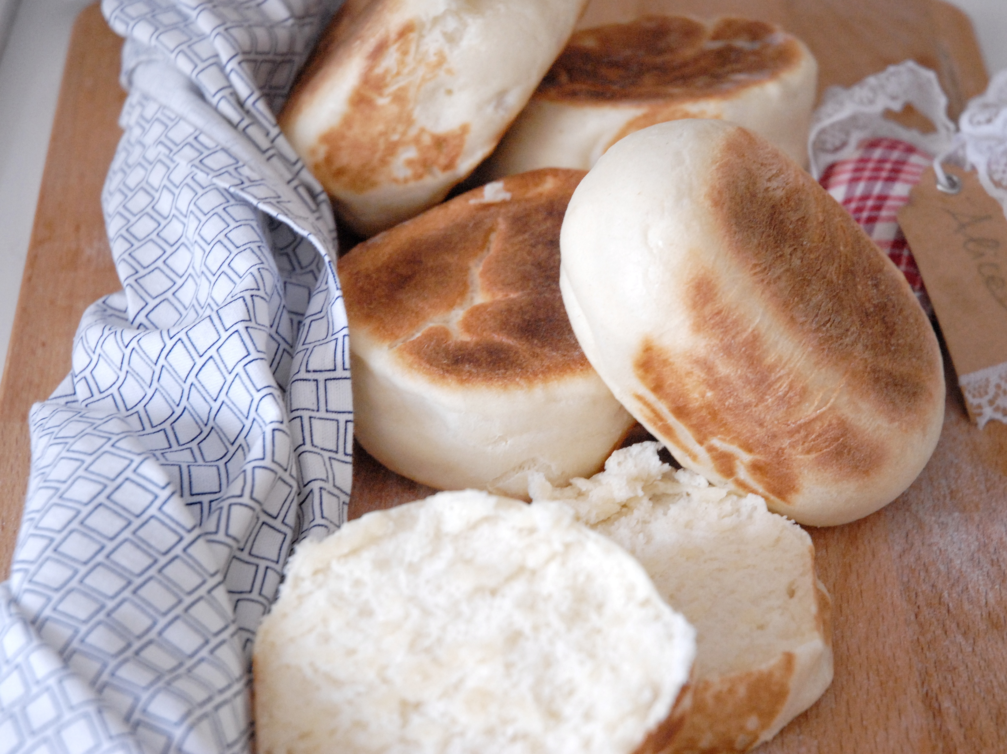 English muffin per il brunch domenicale