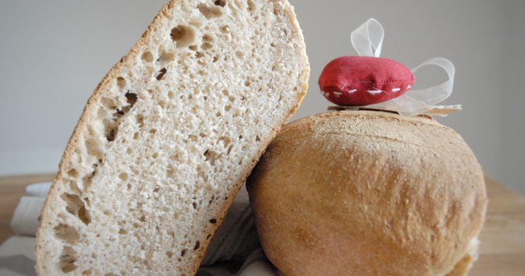 Pane Toscano con poolish