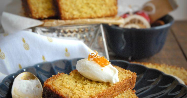 Cake al semolino, cocco e arancia di Ottolenghi