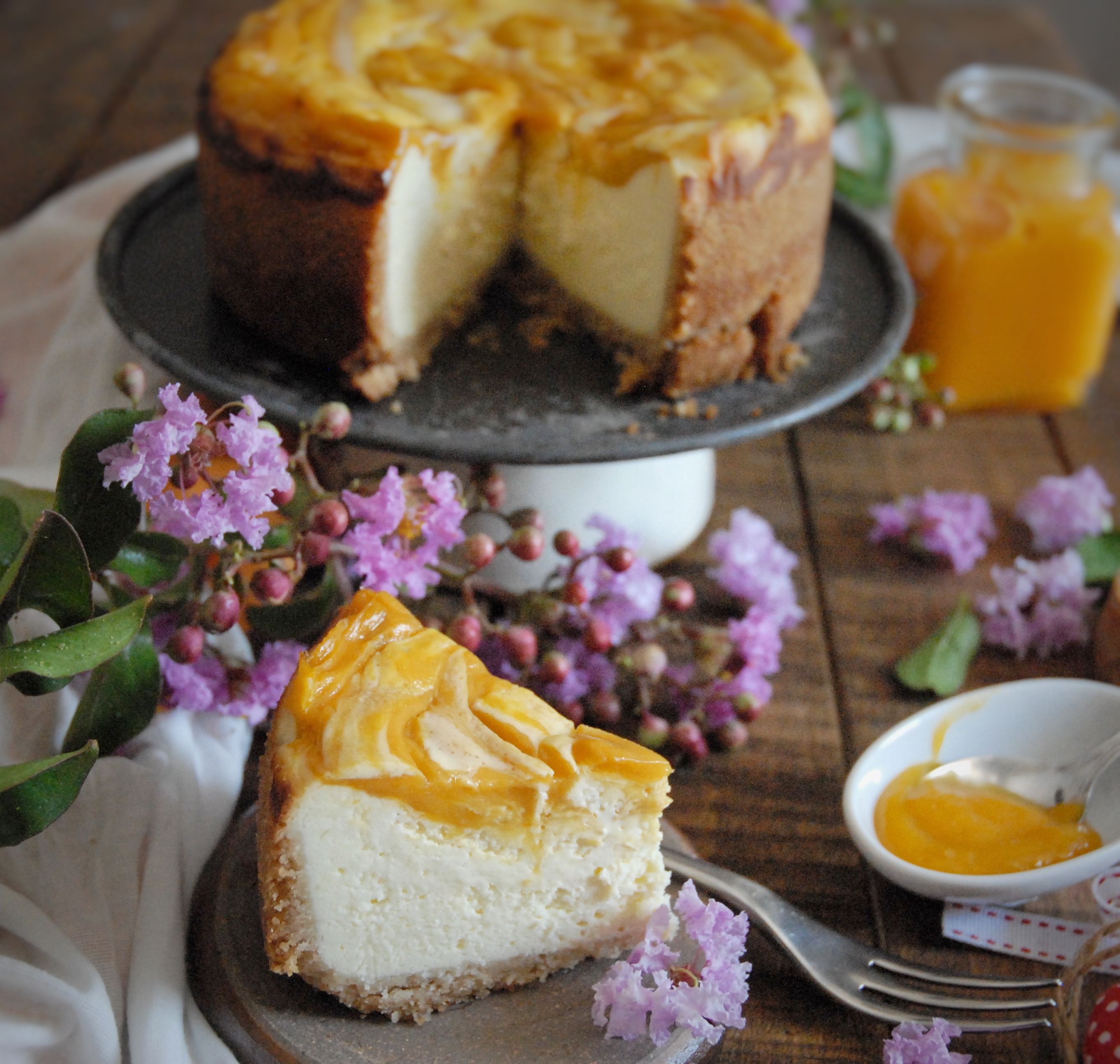 Ney York Cheesecake al mango
