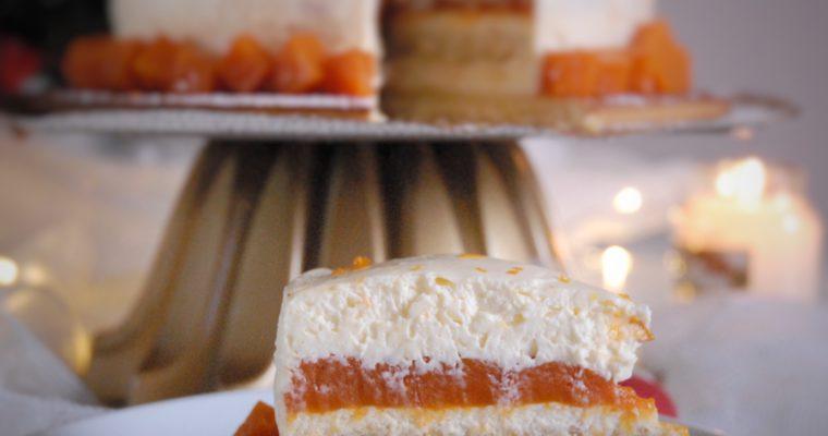 Mousse mascarpone con zucca, cannella e profumo d'arancia