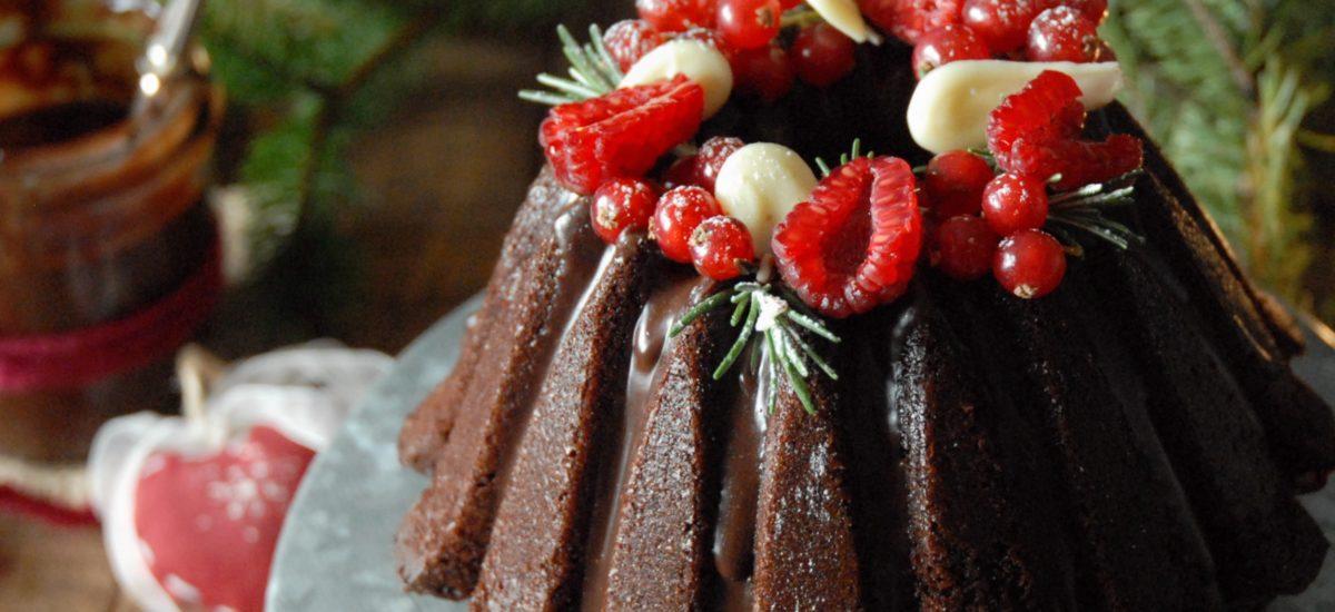 Bundt cake di Natale