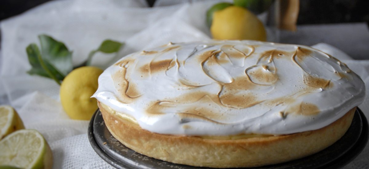 Lemon & Lime Merengue Pie