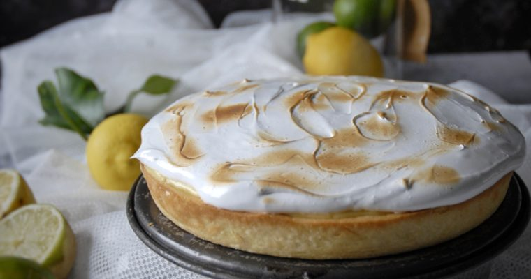 Lemon & Lime Merengue Pie