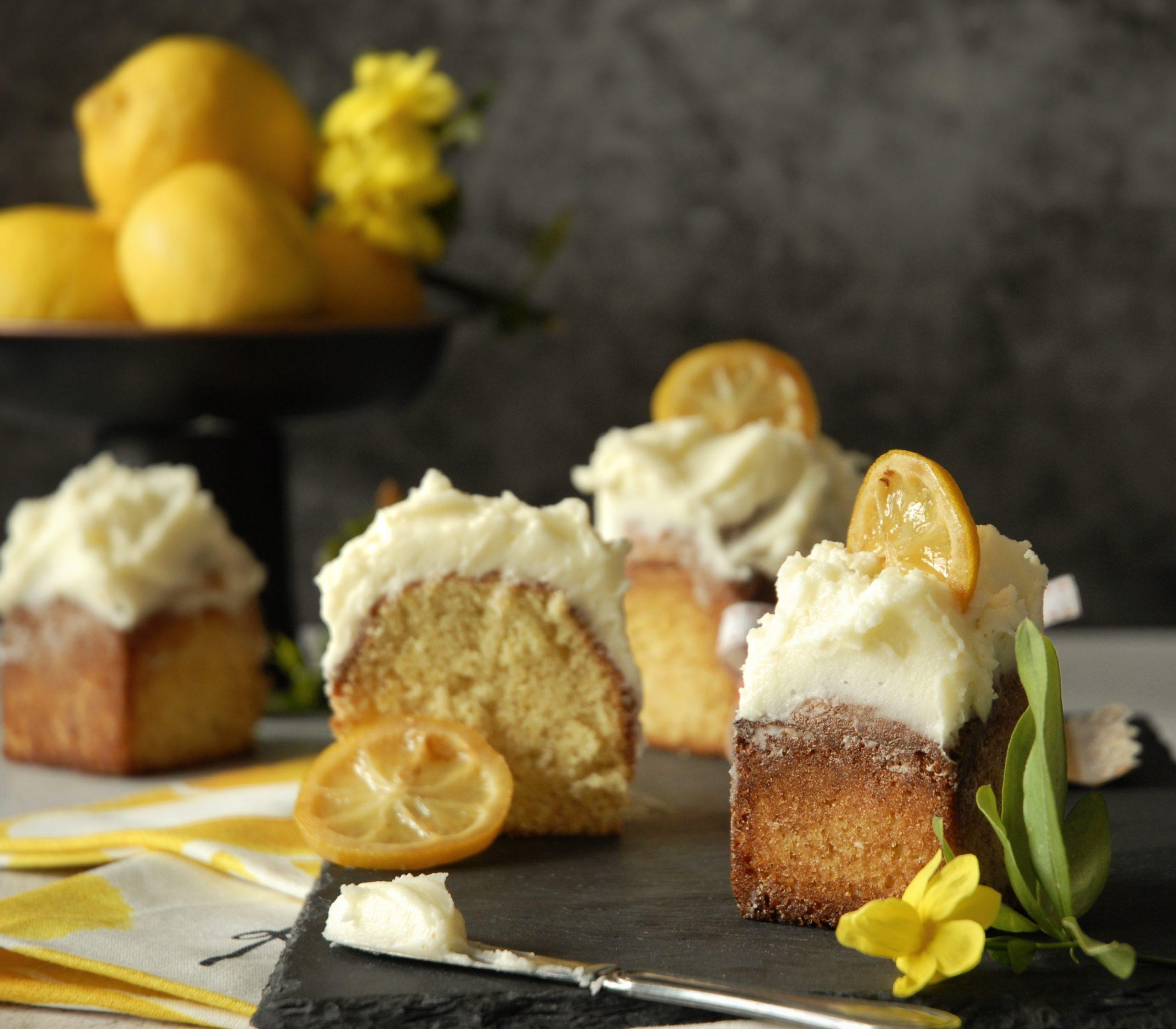 Cake al limone e olio d'oliva