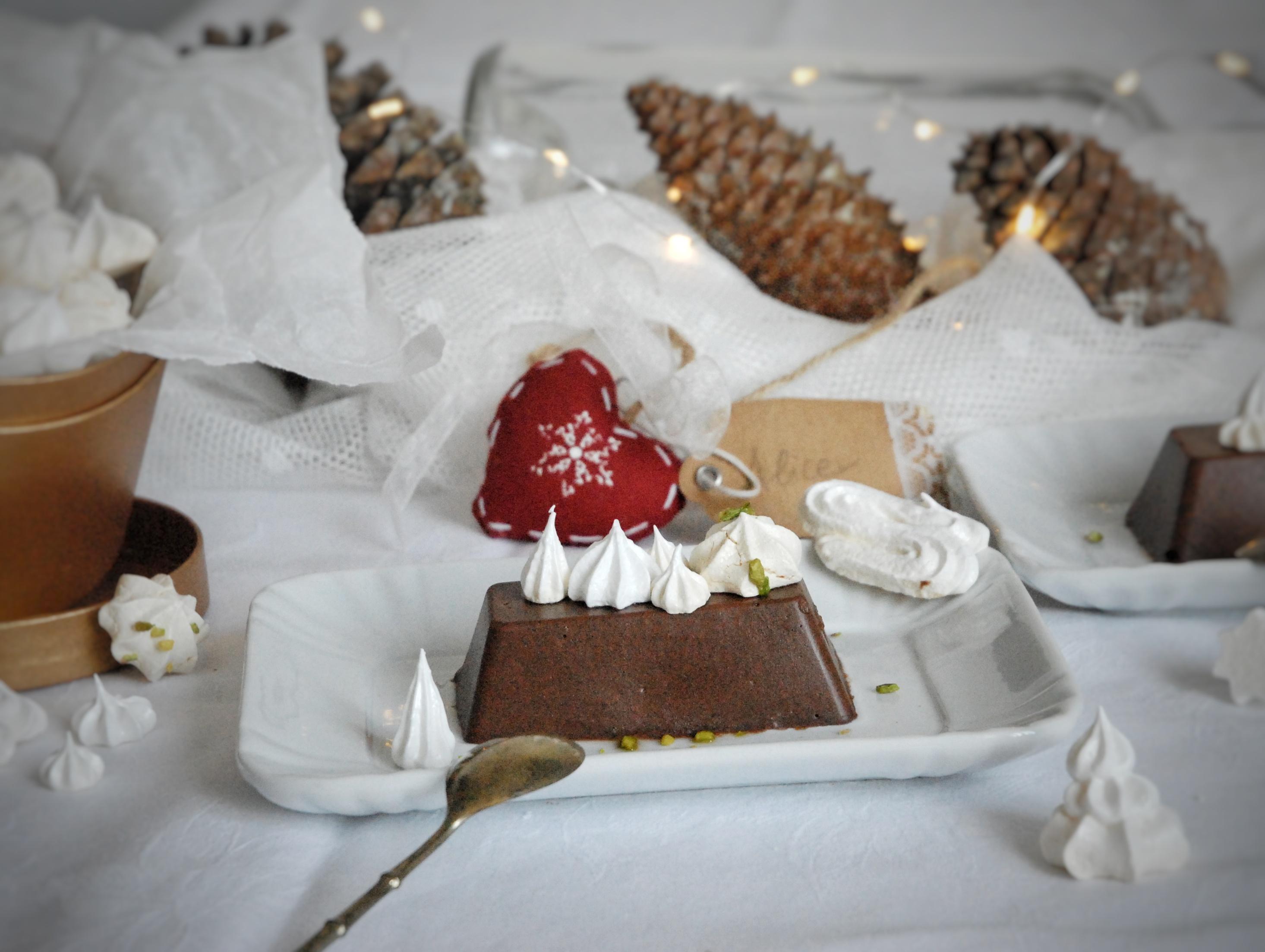 Mattonelle di castagne e cioccolato