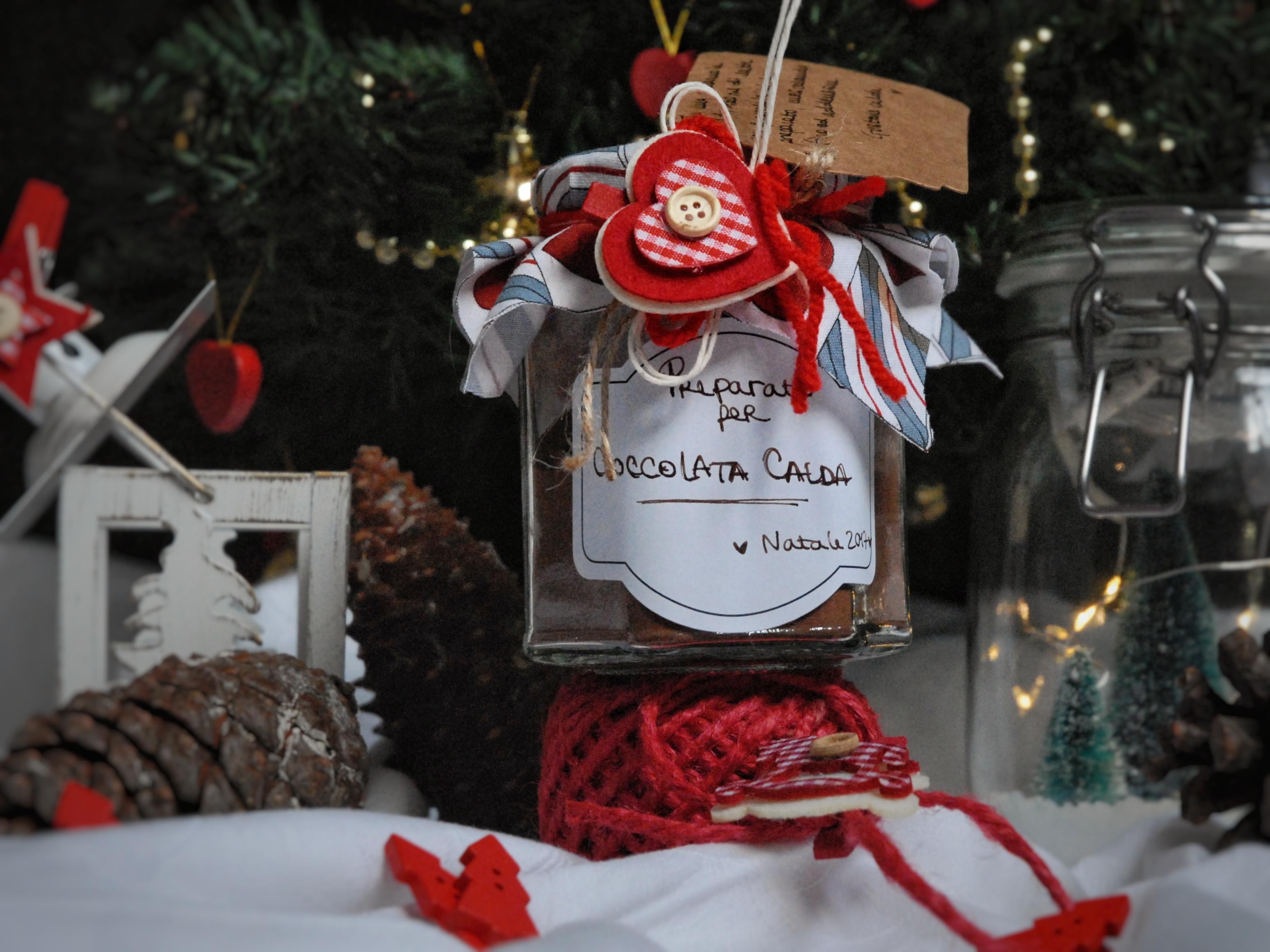 Regali di Natale in barattolo