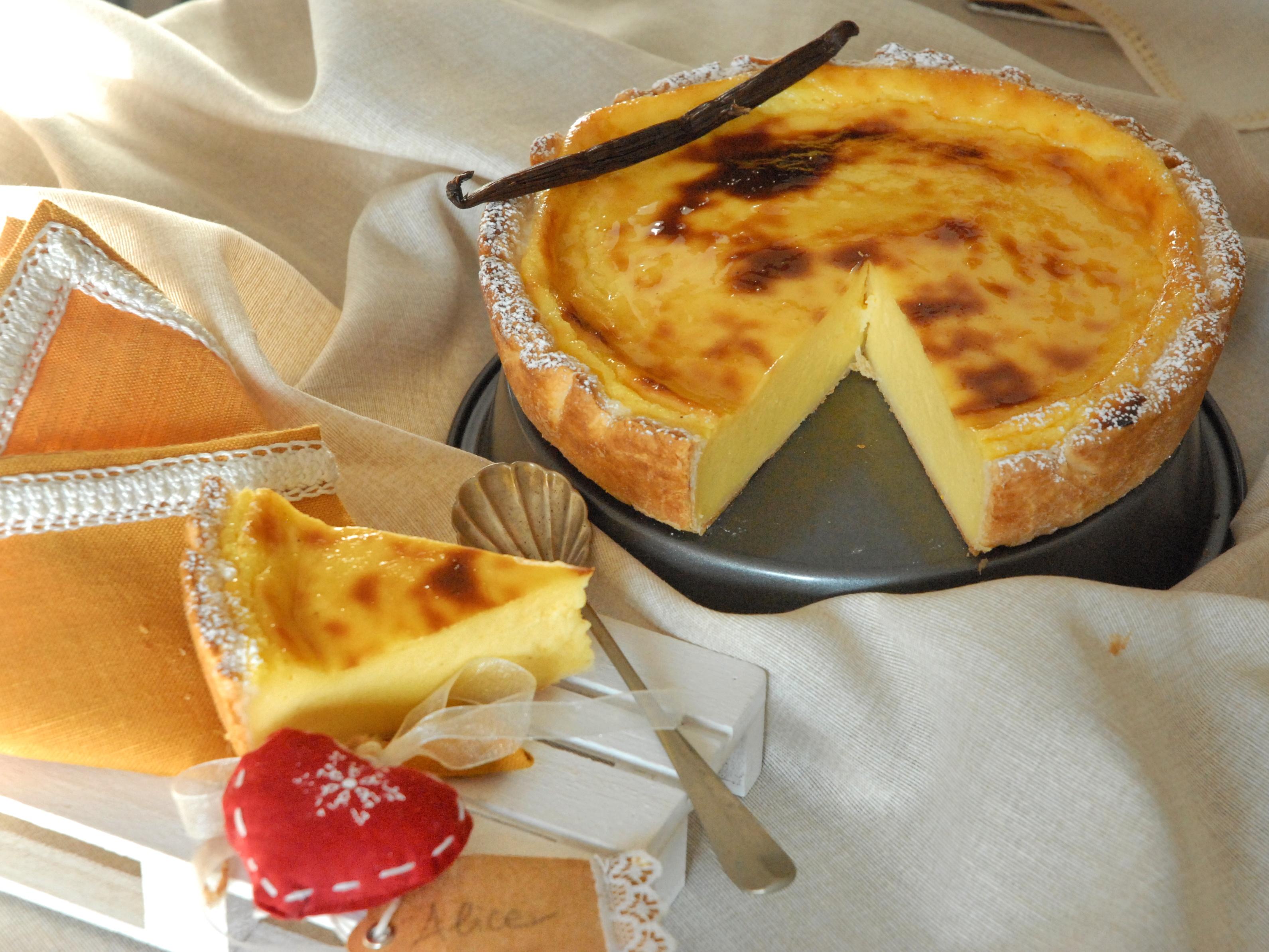 Flan parisien alla vaniglia