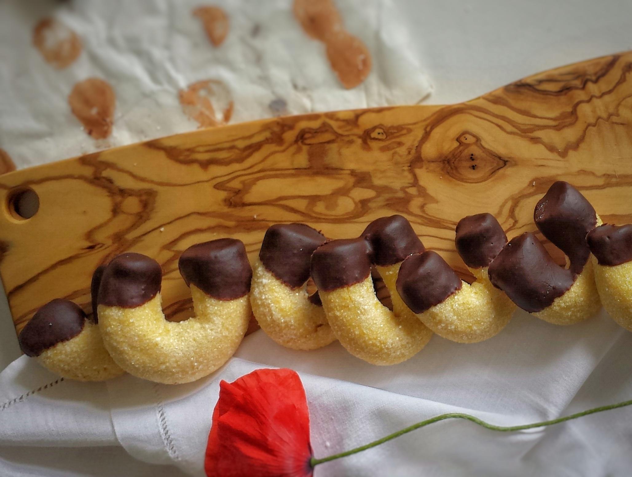 Biscotti Fortunelli al cioccolato
