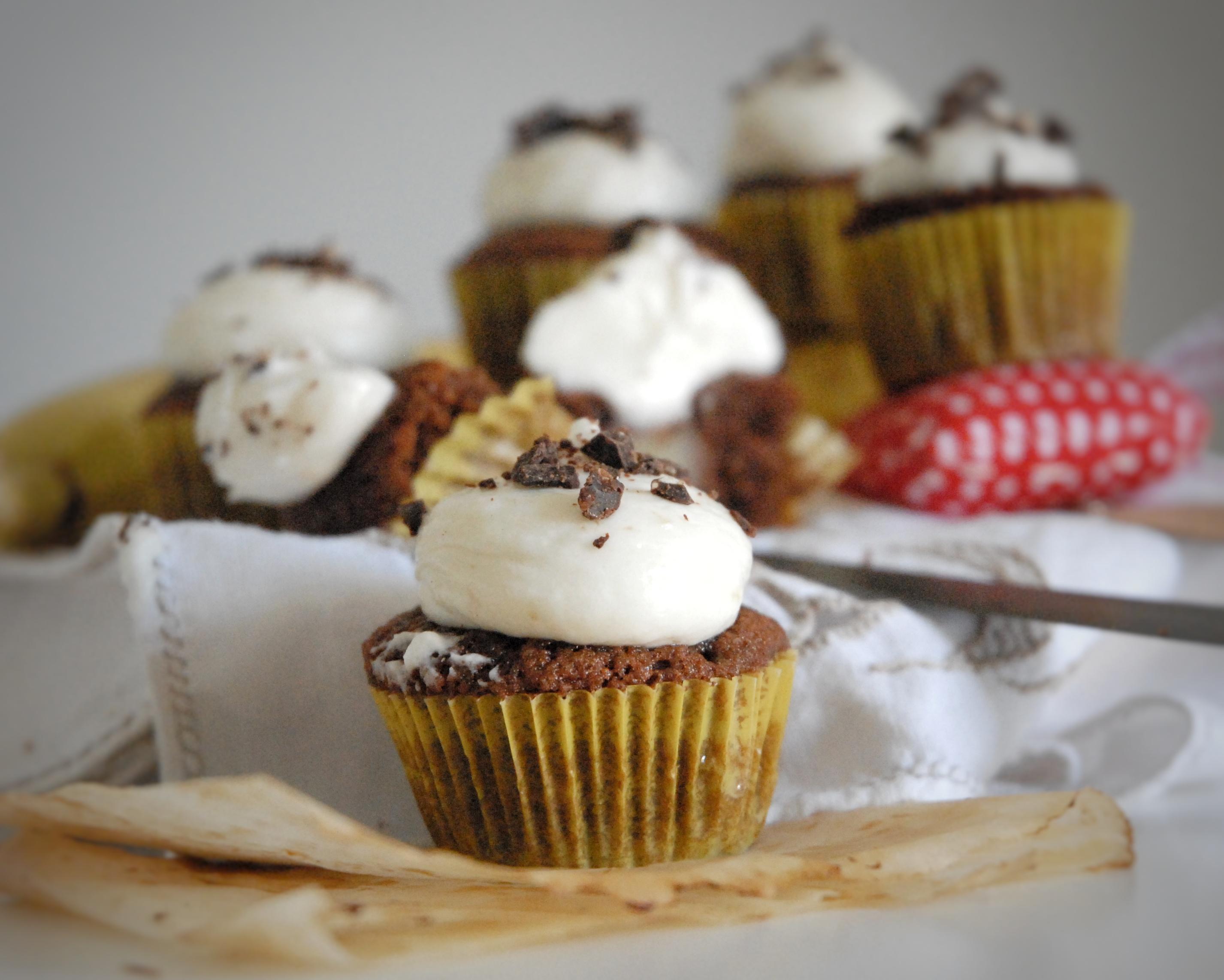 Cupcakes cioccolato e banana
