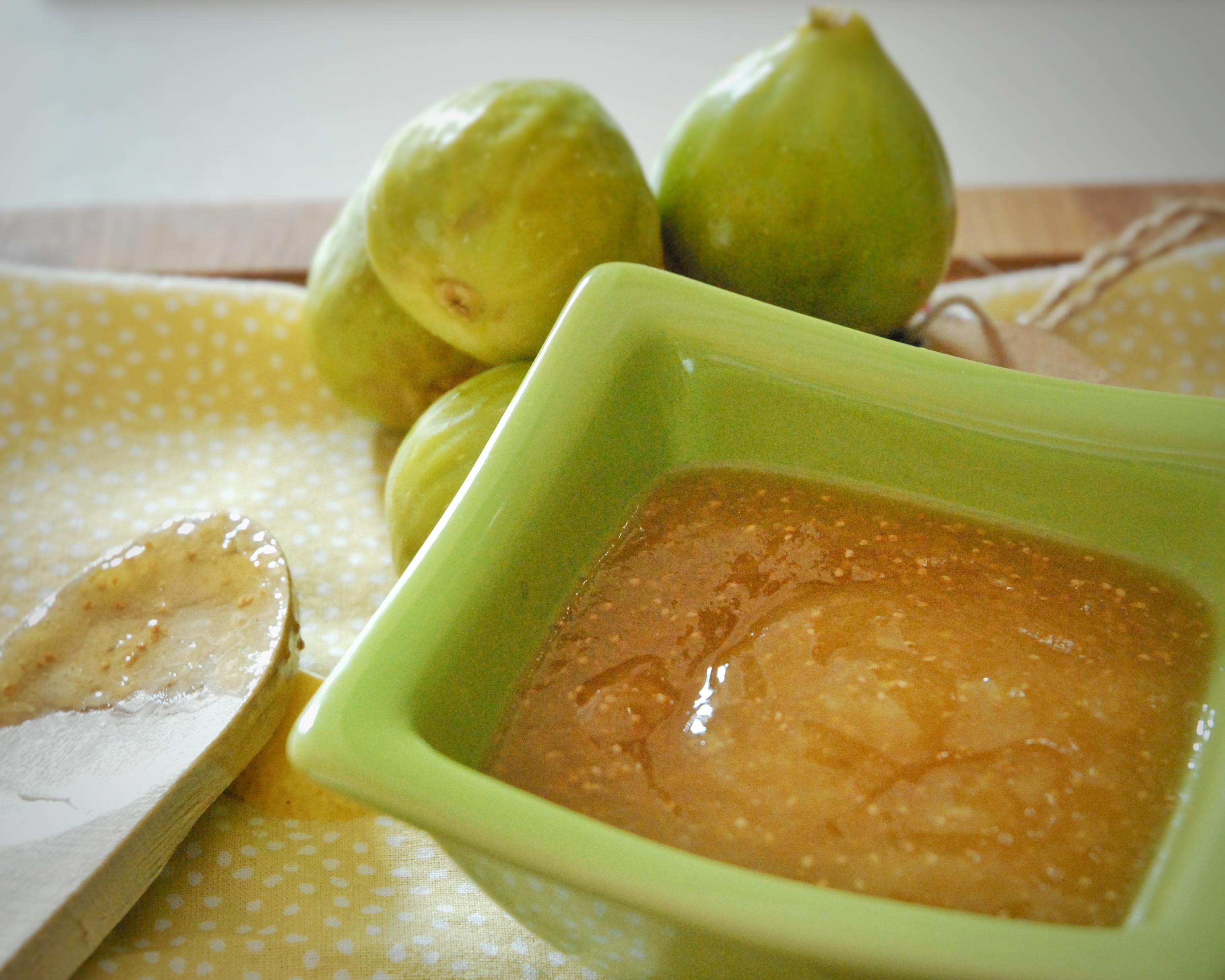 Salsa caramellata di fichi al profumo di limone