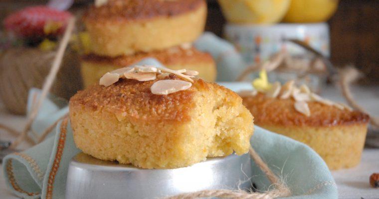 Tortine tunisine miele, mandorle e limone