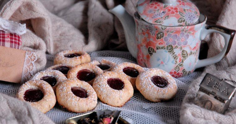 Biscotti degli Ussari – alias Thumbprint cookies