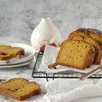 plumcake zucca e cannella senza lattosio