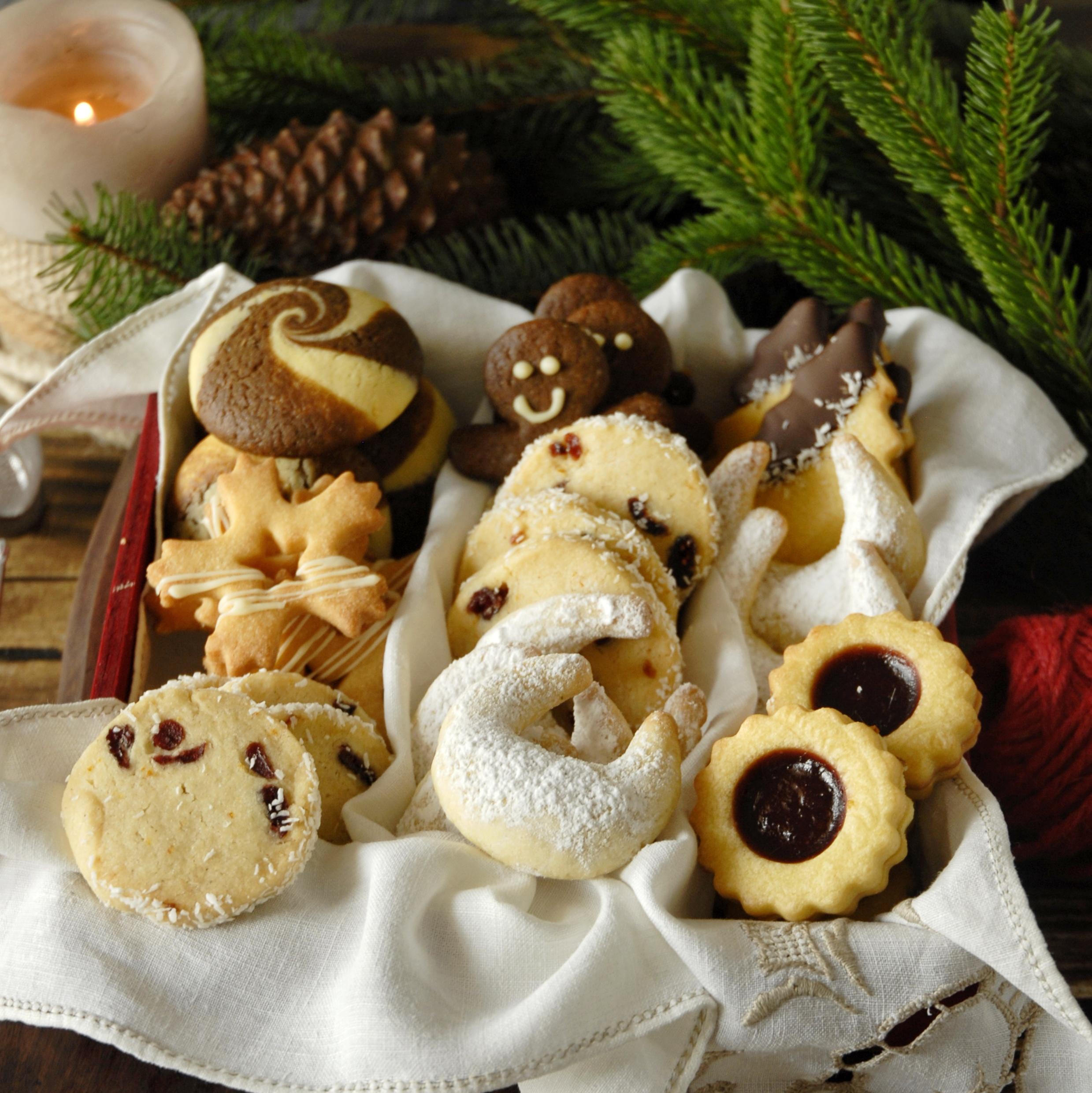 La mia scatola di biscotti di Natale