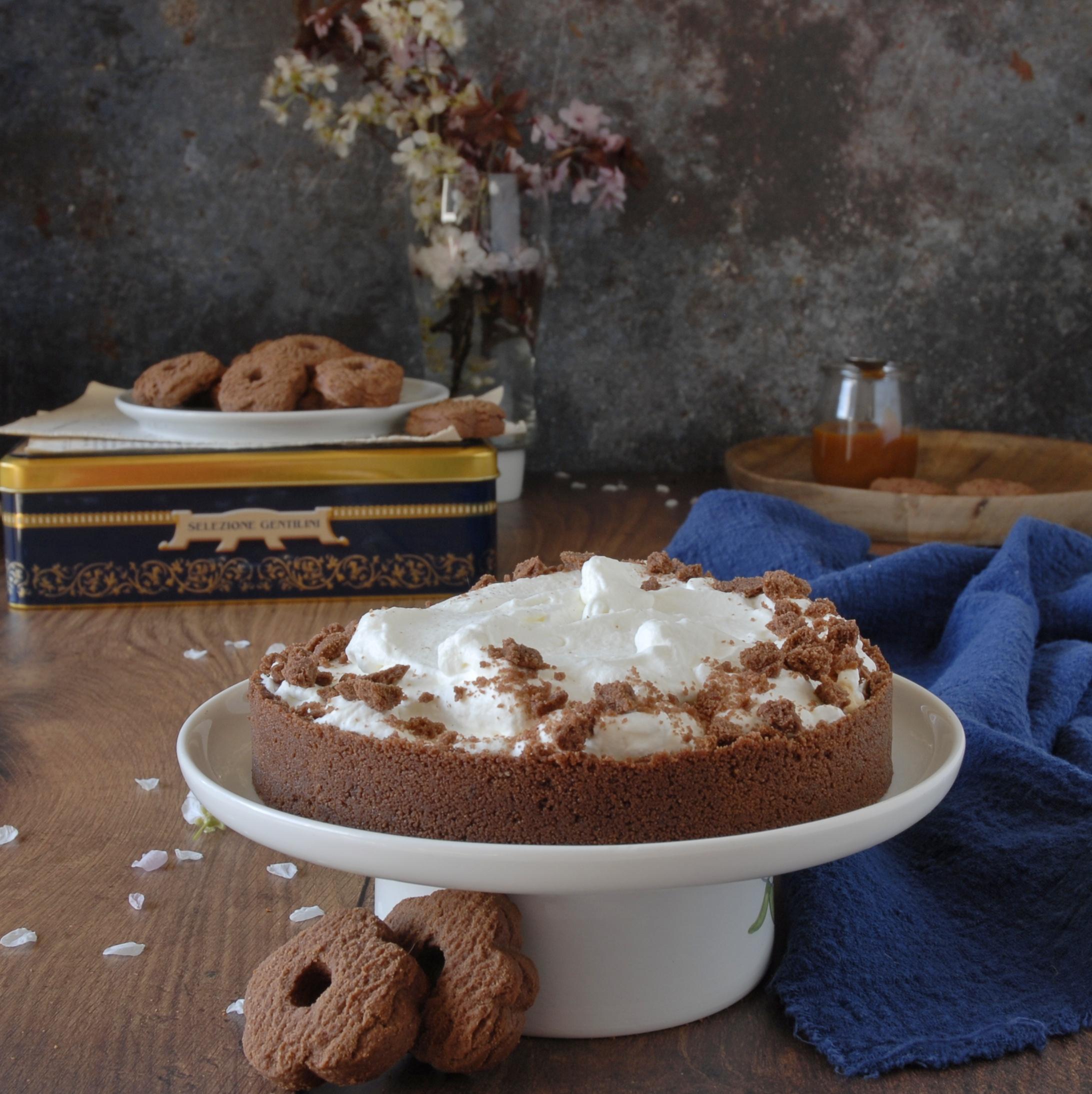 Torta Banoffee senza cottura