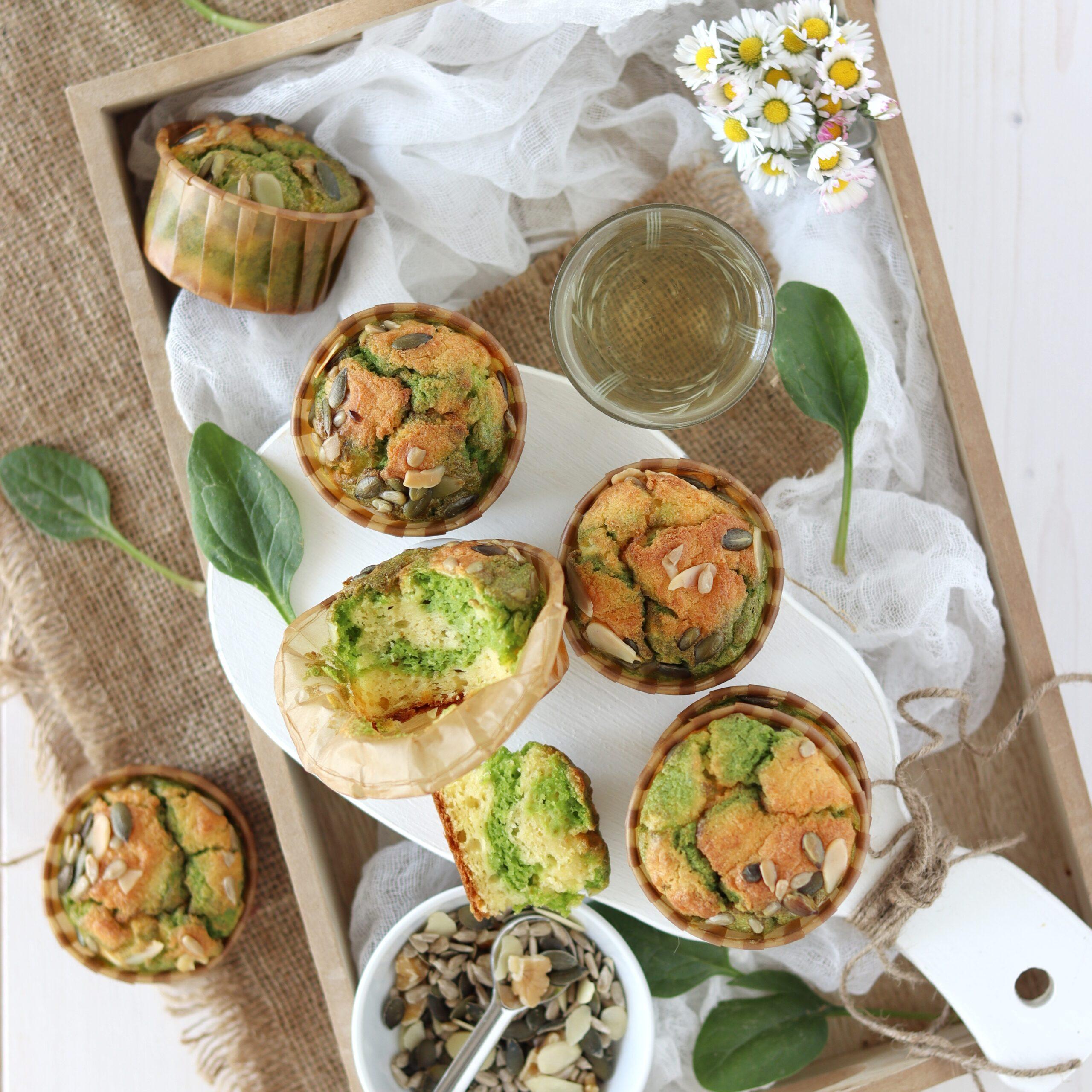 Muffin salati bicolore