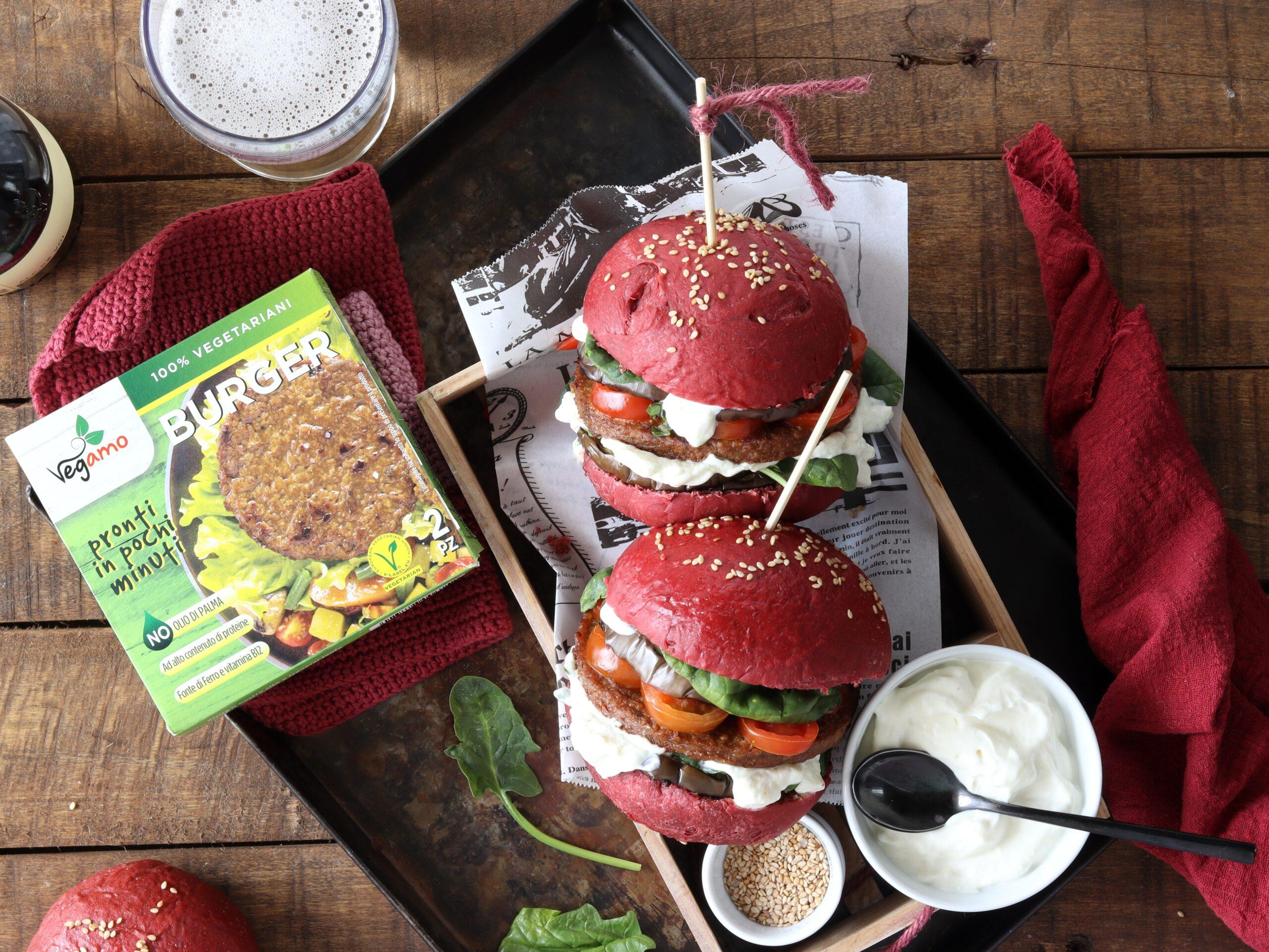Burger buns rosa total vegan