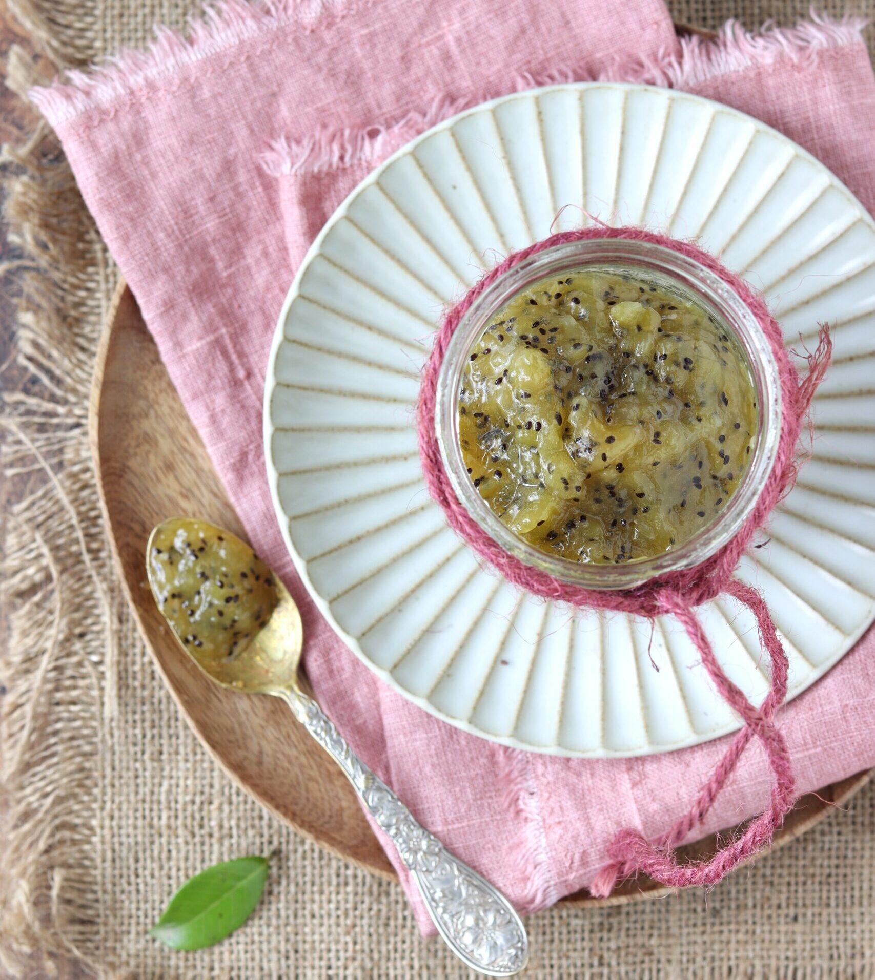 Confettura di kiwi e limone