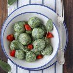 gnudi toscani ricotta e spinaci