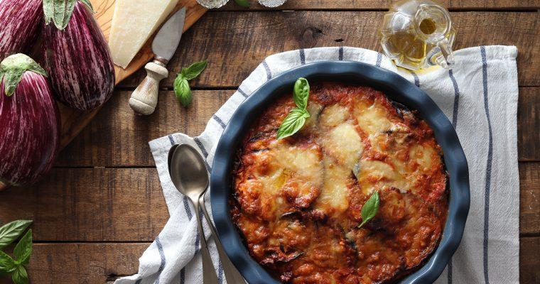 Parmigiana leggera al forno