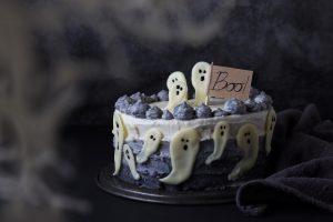 torta zucca e carote di halloween